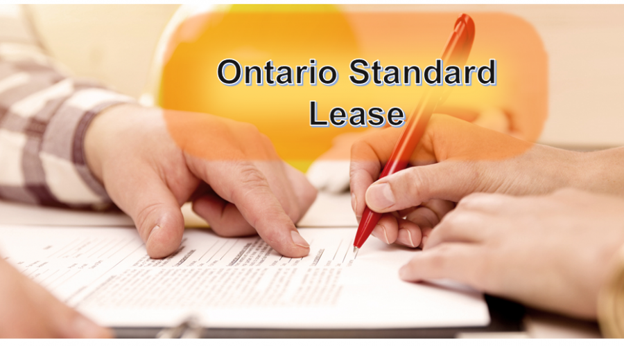 Ontario Standard Lease