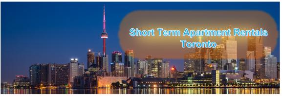 short term apartment rentals toronto
