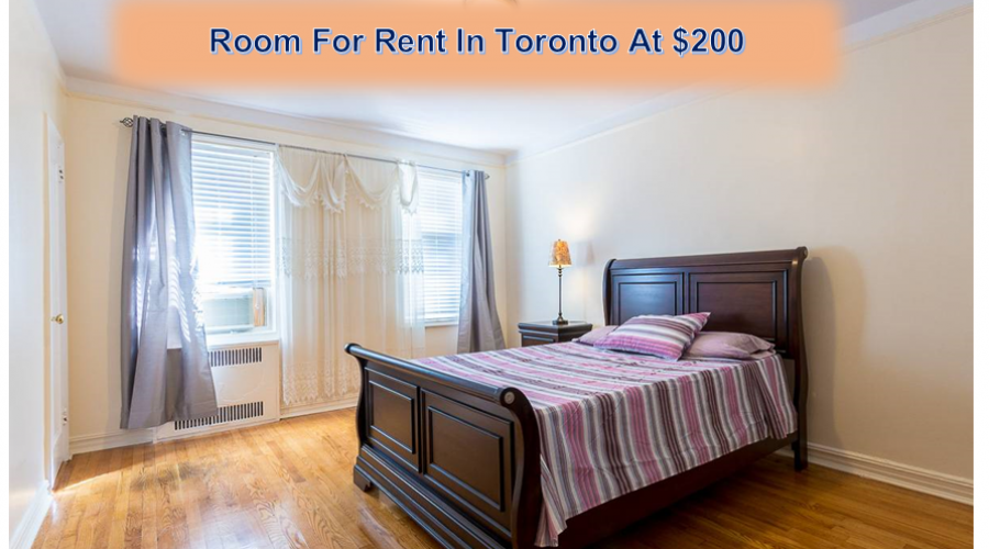 Room For Rent In Toronto At $200